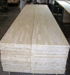 A part in the production process of Finger Joint Board (Part 1)